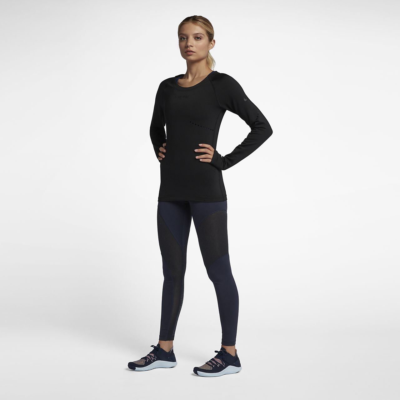 160a0630b7e7f Nike Pro Warm Women s Sparkle 7 8 Tights. Nike.com