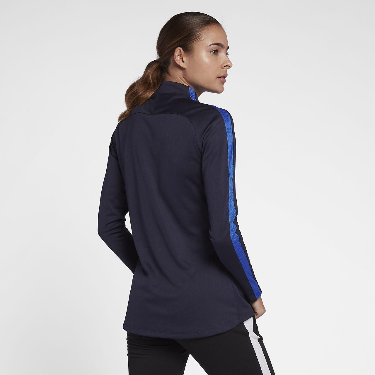 Nike Dri FIT Academy Drill Women's Long Sleeve Football Top