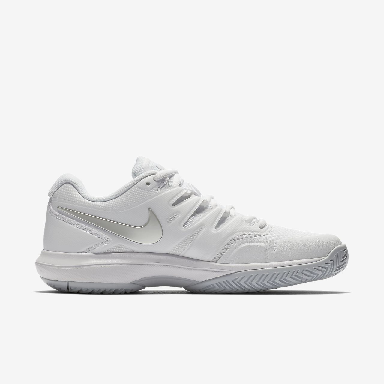 great fit e93a3 6eb7c Nike - Air Zoom Resistance Femmes Chaussure de tennis (blanc) - EU 38 -