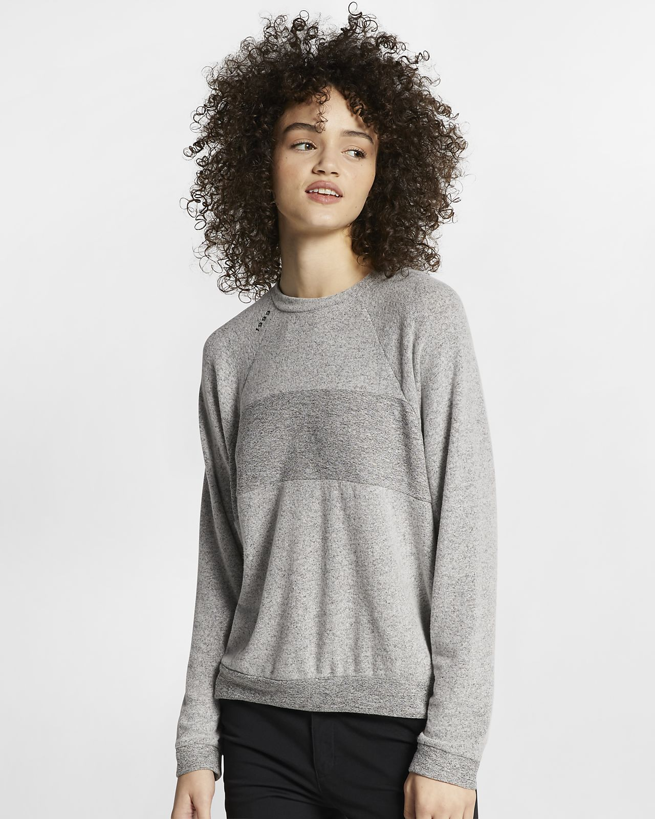 Hurley Chill Dolman Women's Fleece Crew