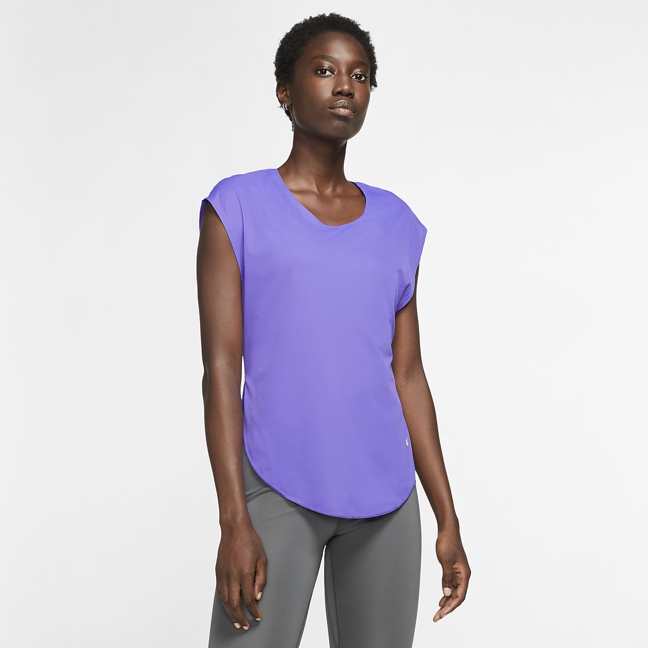 Nike City Sleek Samarreta de running - Dona