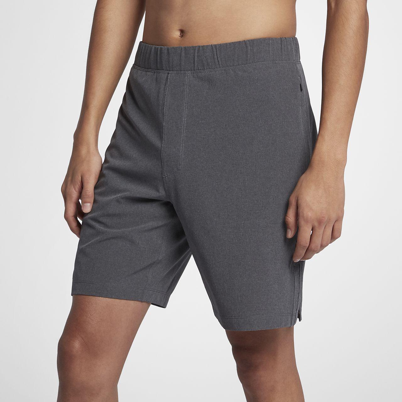Short Hurley Alpha Trainer Plus 45,5 cm pour Homme