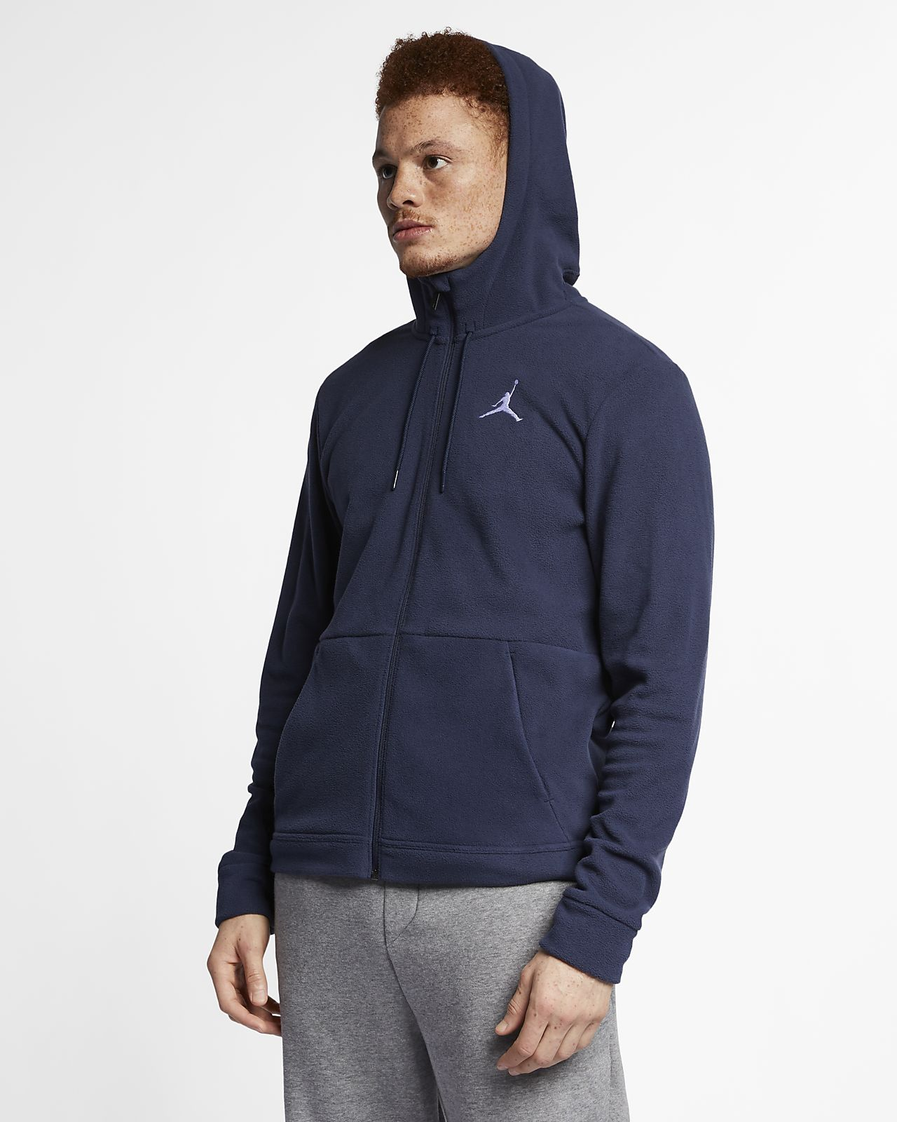 01bbc0377018 Jordan Therma 23 Alpha Men s Full-Zip Training Hoodie. Nike.com AU