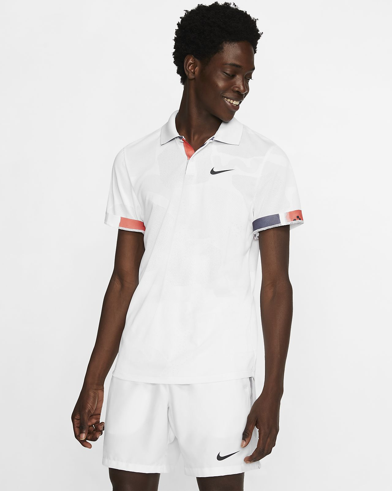 NikeCourt Breathe Advantage Tennis Poloshirt für Herren