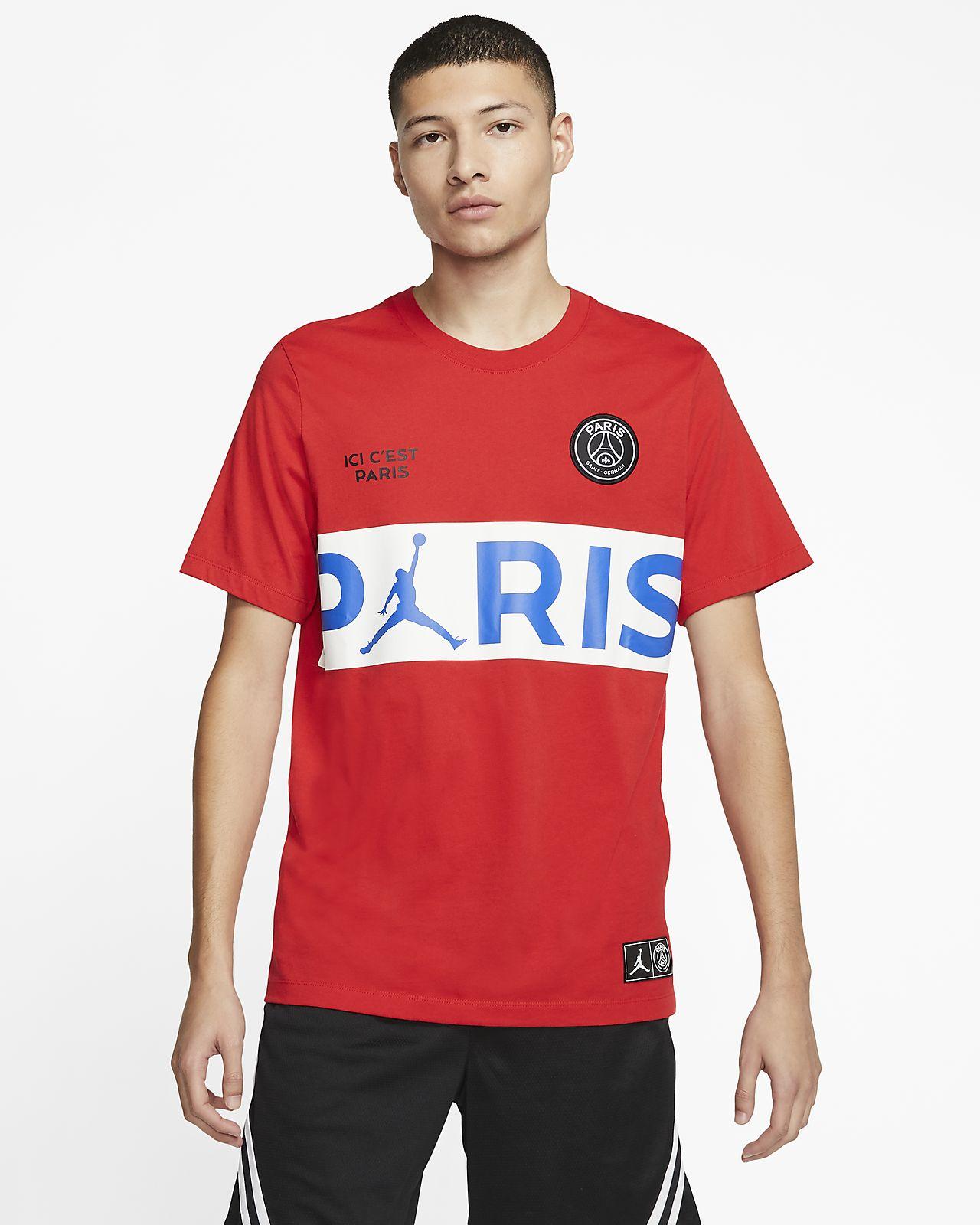 เสื้อยืดลายตัวอักษร Paris Saint-Germain