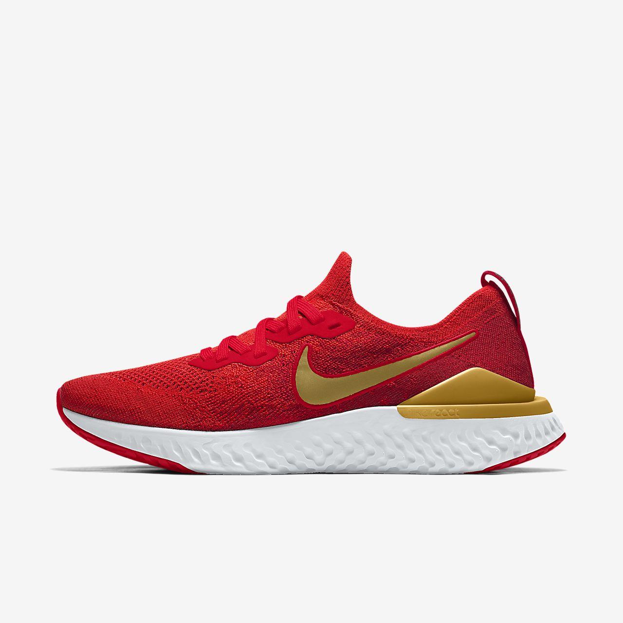 Εξατομικευμένο γυναικείο παπούτσι για τρέξιμο Nike Epic React Flyknit 2 By You