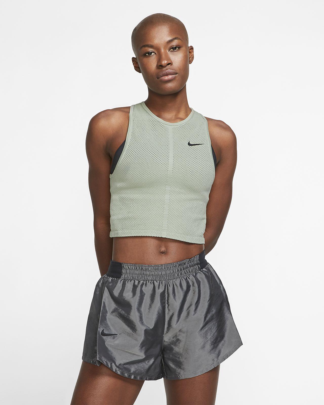 Nike Dri-FIT női hálós futótrikó