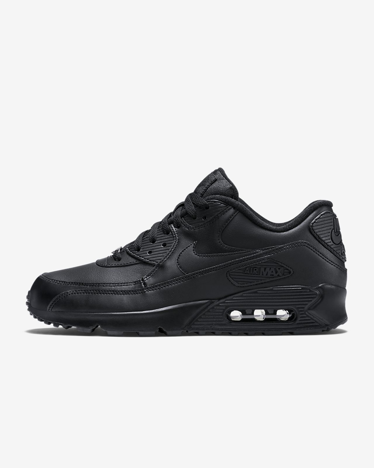 the best attitude 76fc8 2e444 ... Nike Air Max 90 Leather Men s Shoe