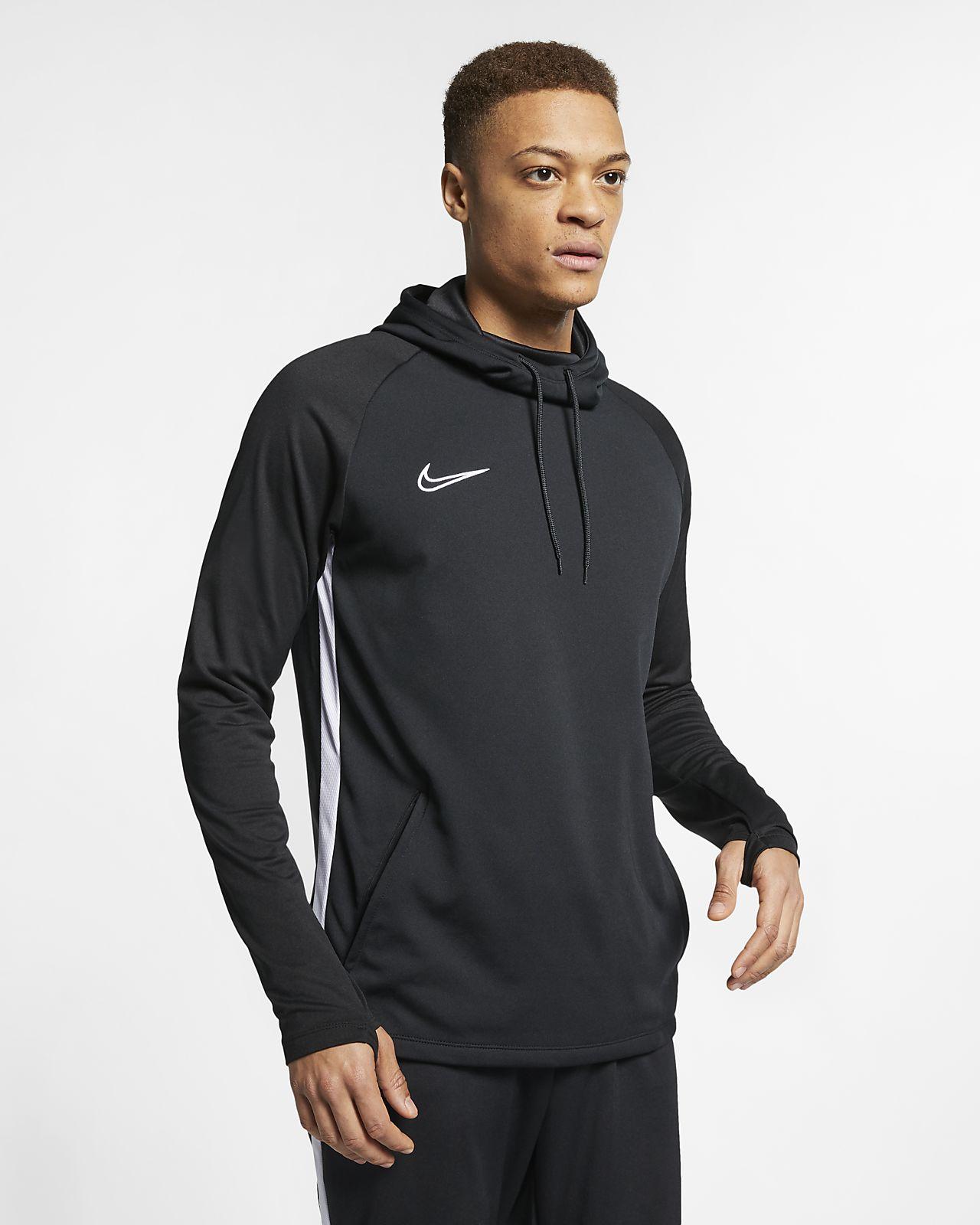 Sudadera con capucha de fútbol sin cierre para hombre Nike Dri-FIT Academy