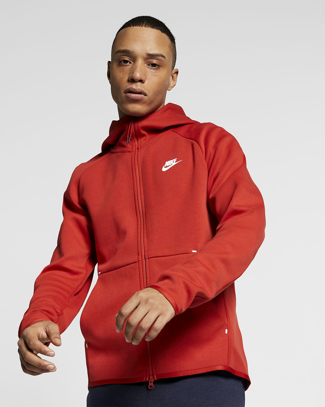 best sneakers 4e221 75a60 ... Nike Sportswear Tech Fleece Mens Full-Zip Hoodie