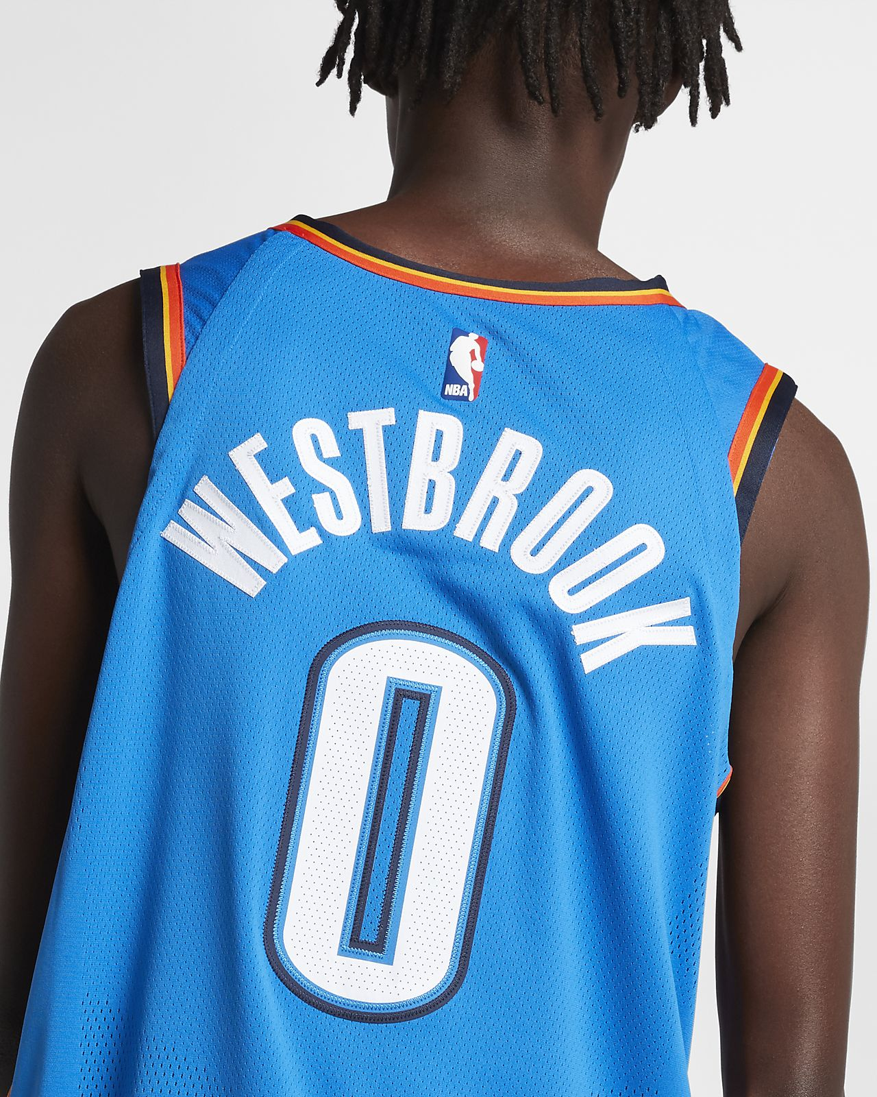 1013b610c3915 ... Maillot connecté Nike NBA Russell Westbrook Icon Edition Authentic (Oklahoma  City Thunder) pour Homme