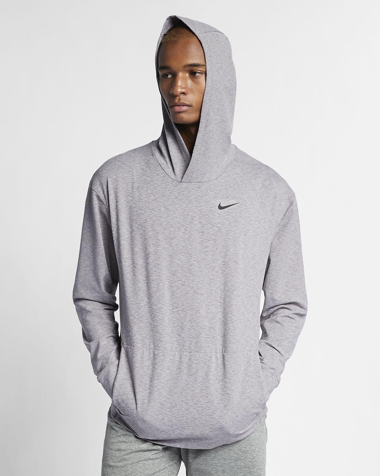 Nike Dri FIT Yogatrainingshoodie met lange mouwen voor heren