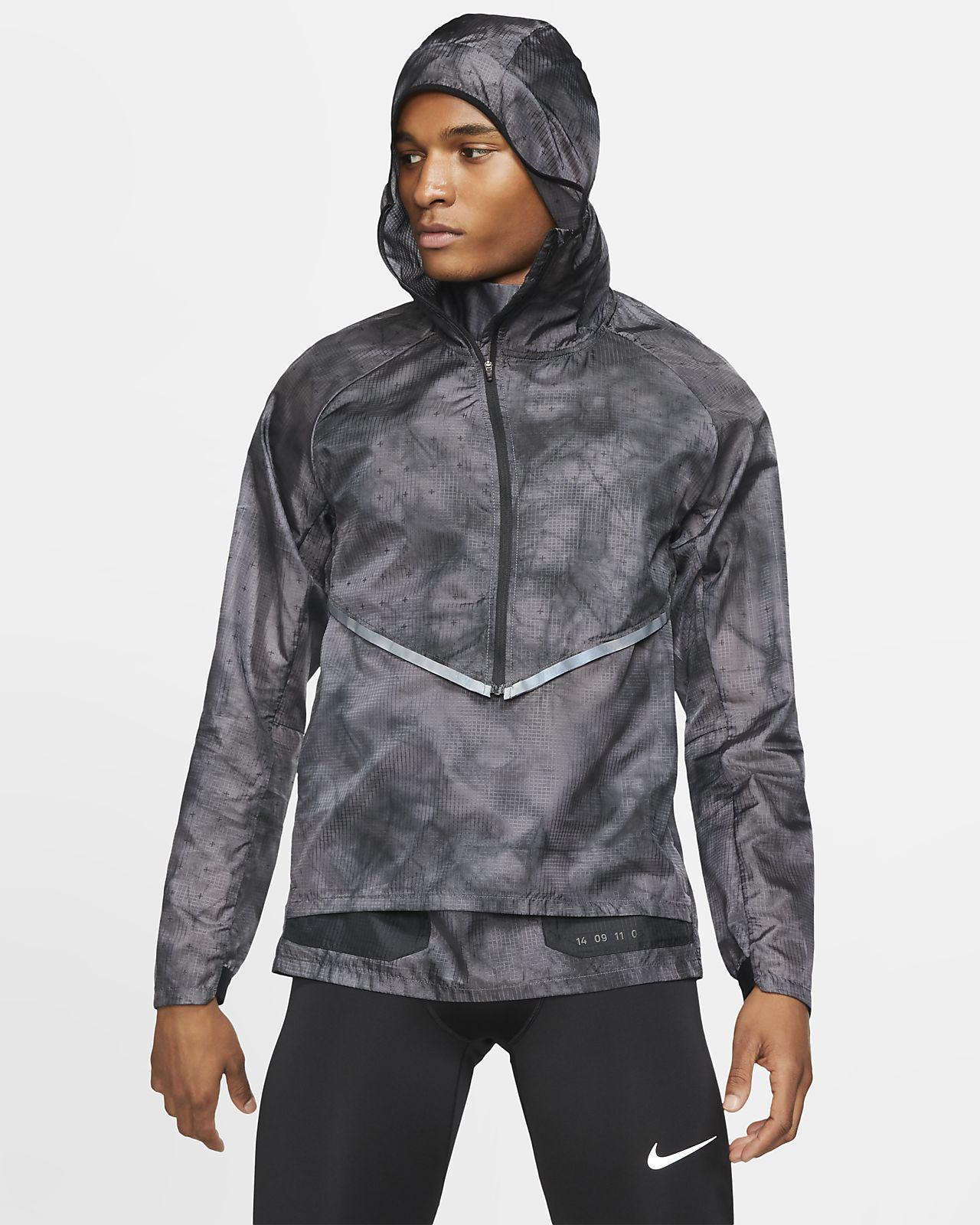 Nike Tech Pack Herren-Laufjacke mit Kapuze