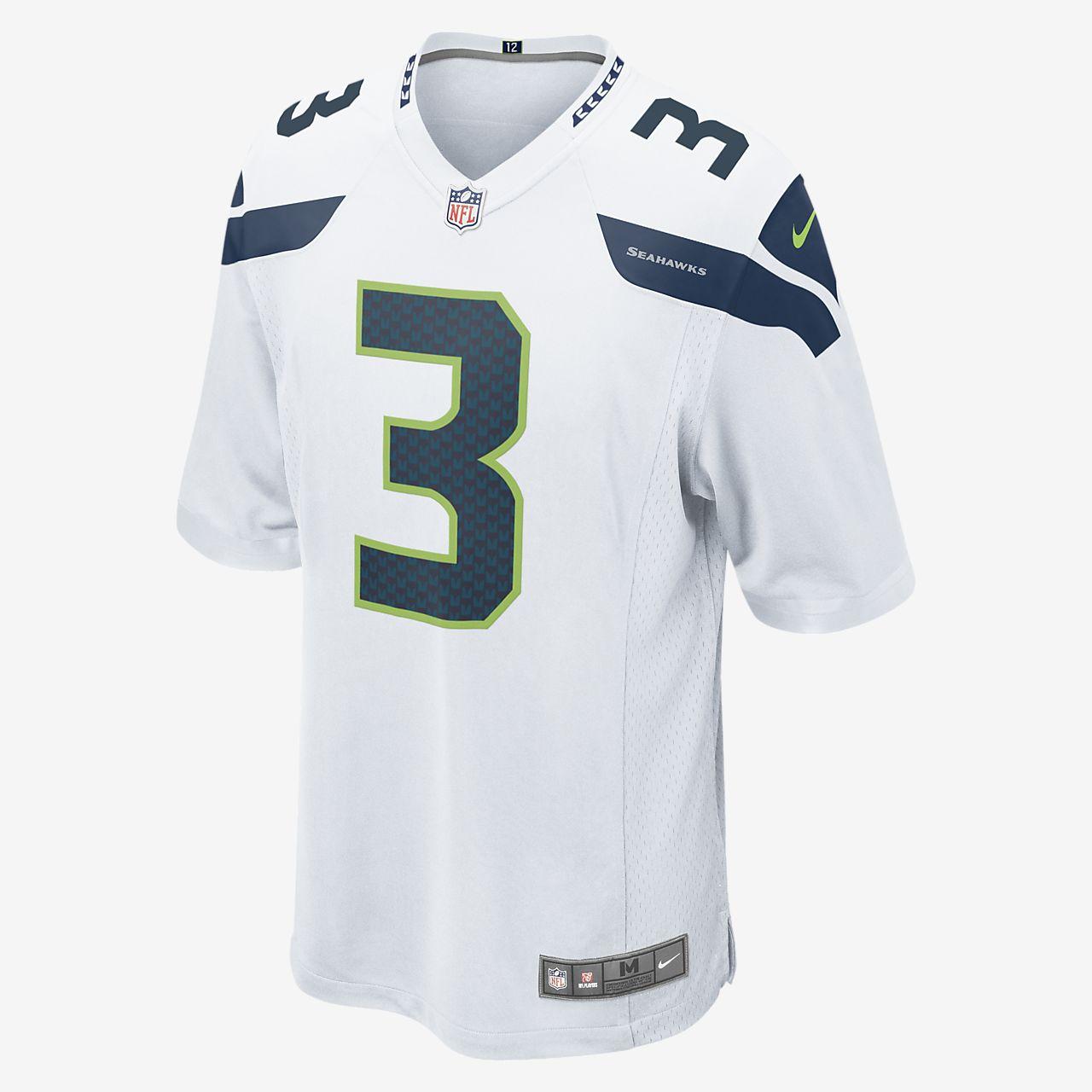 premium selection 3c75e 724be NFL Seattle Seahawks (Russell Wilson) American-Football-Spieltrikot für  Herren