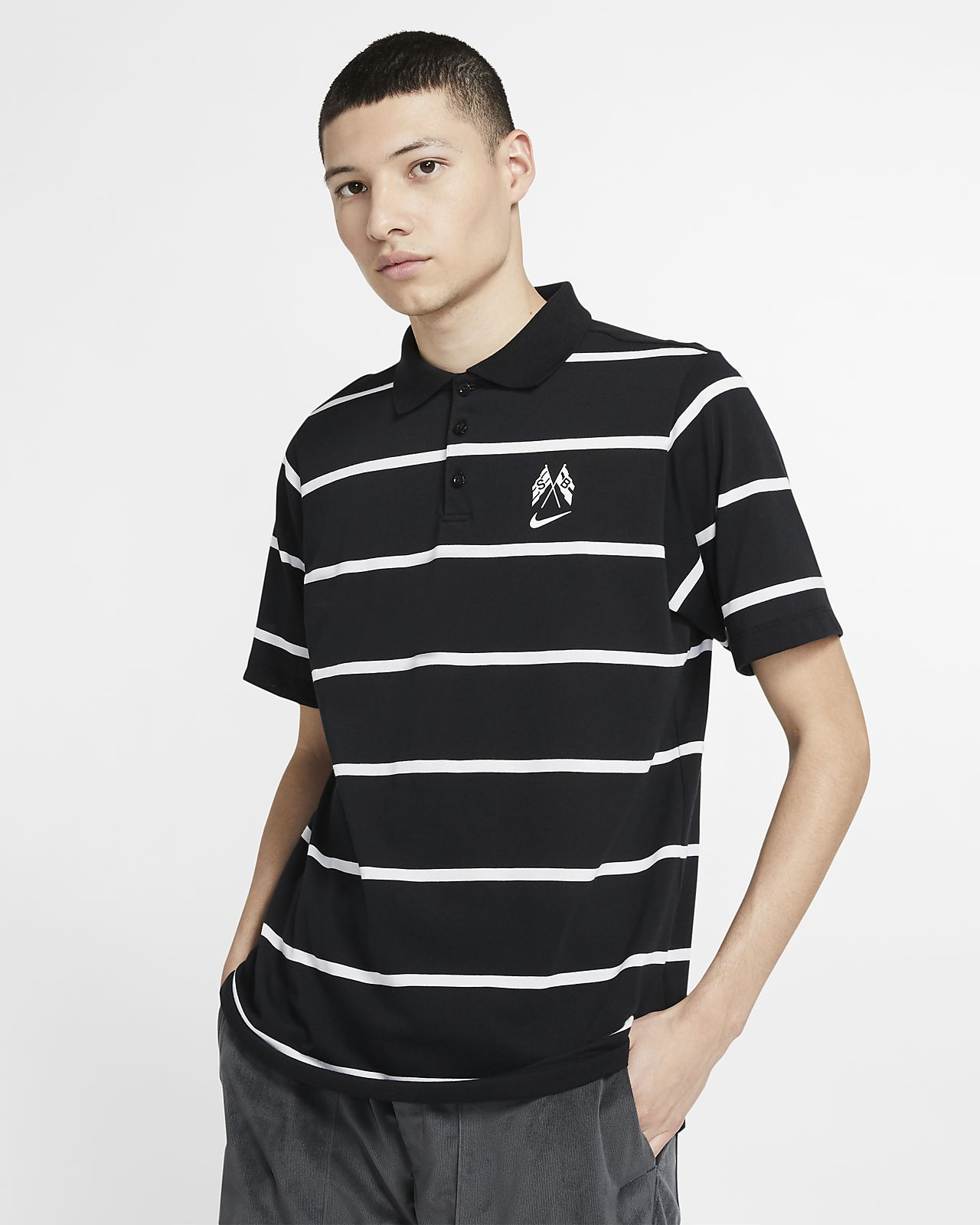 Nike SB Dri-FIT skateskjorte til herre