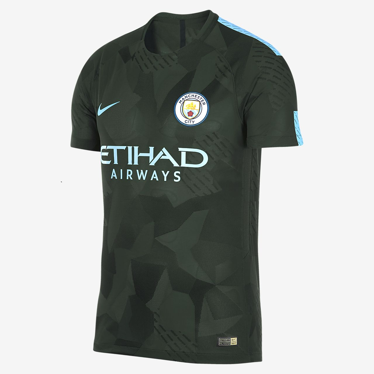 ... 2017/18 Manchester City FC Vapor Match Third Men's Football Shirt