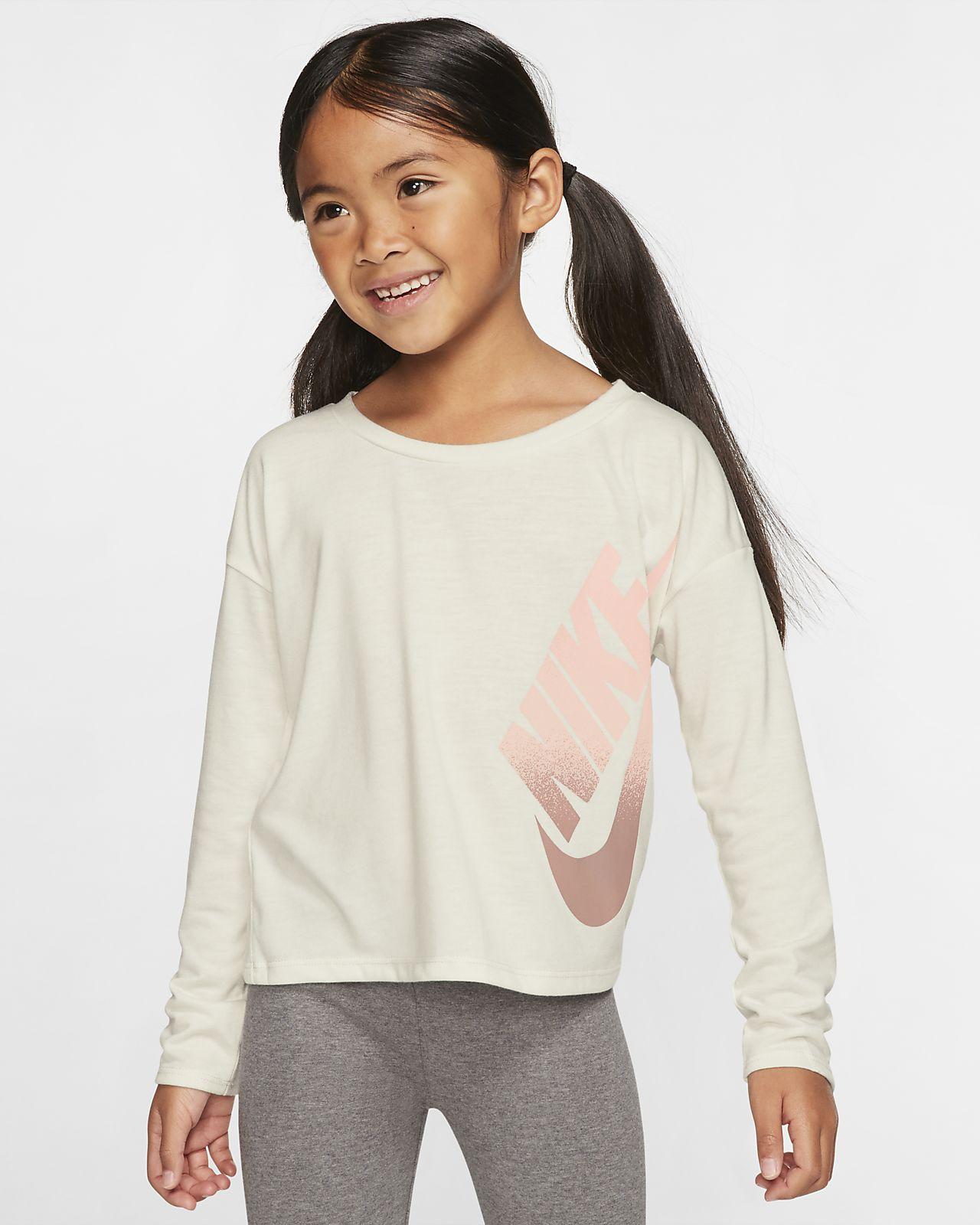 Nike Little Kids' Long-Sleeve Top