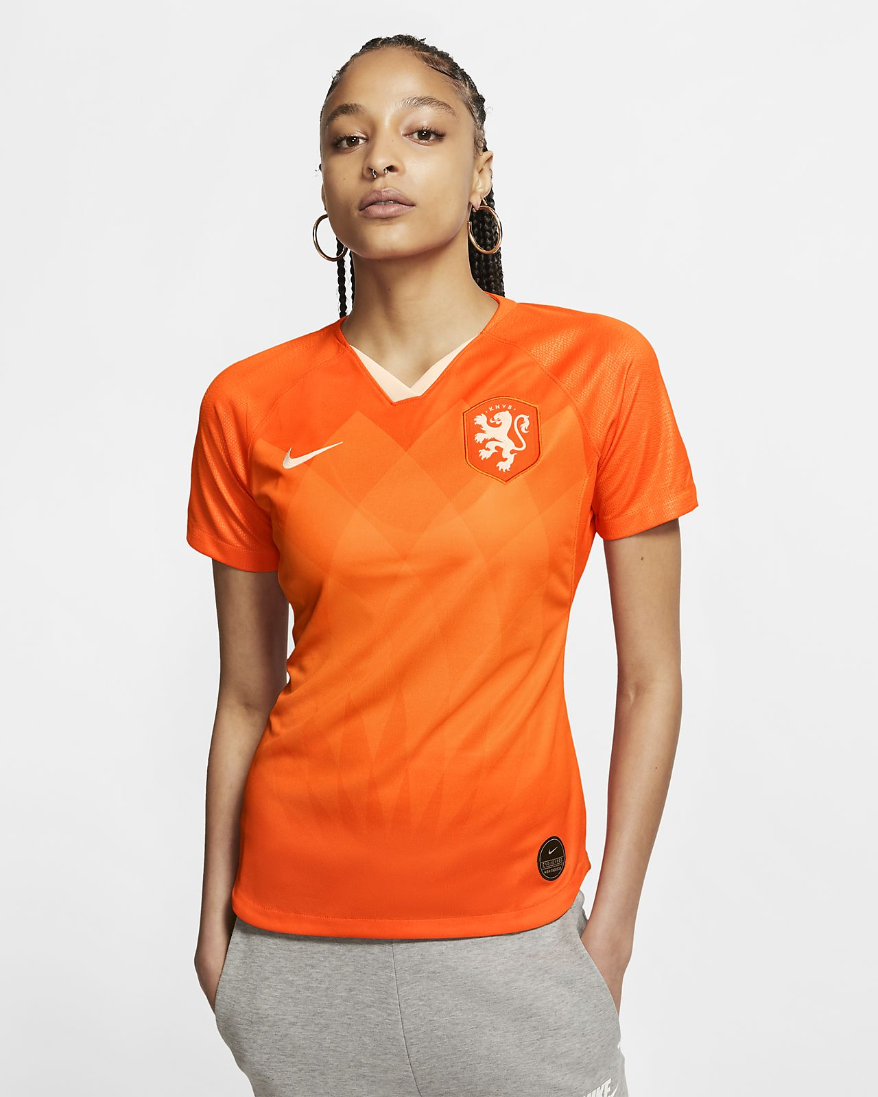 Maillot de football Netherlands 2019 Stadium Home pour Femme