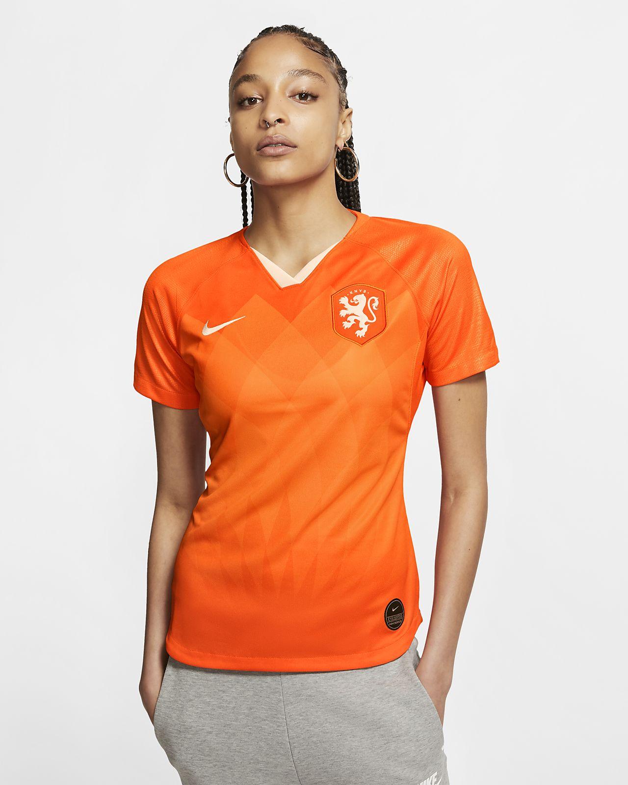Niederlande 2019 Stadium Home Damen-Fußballtrikot