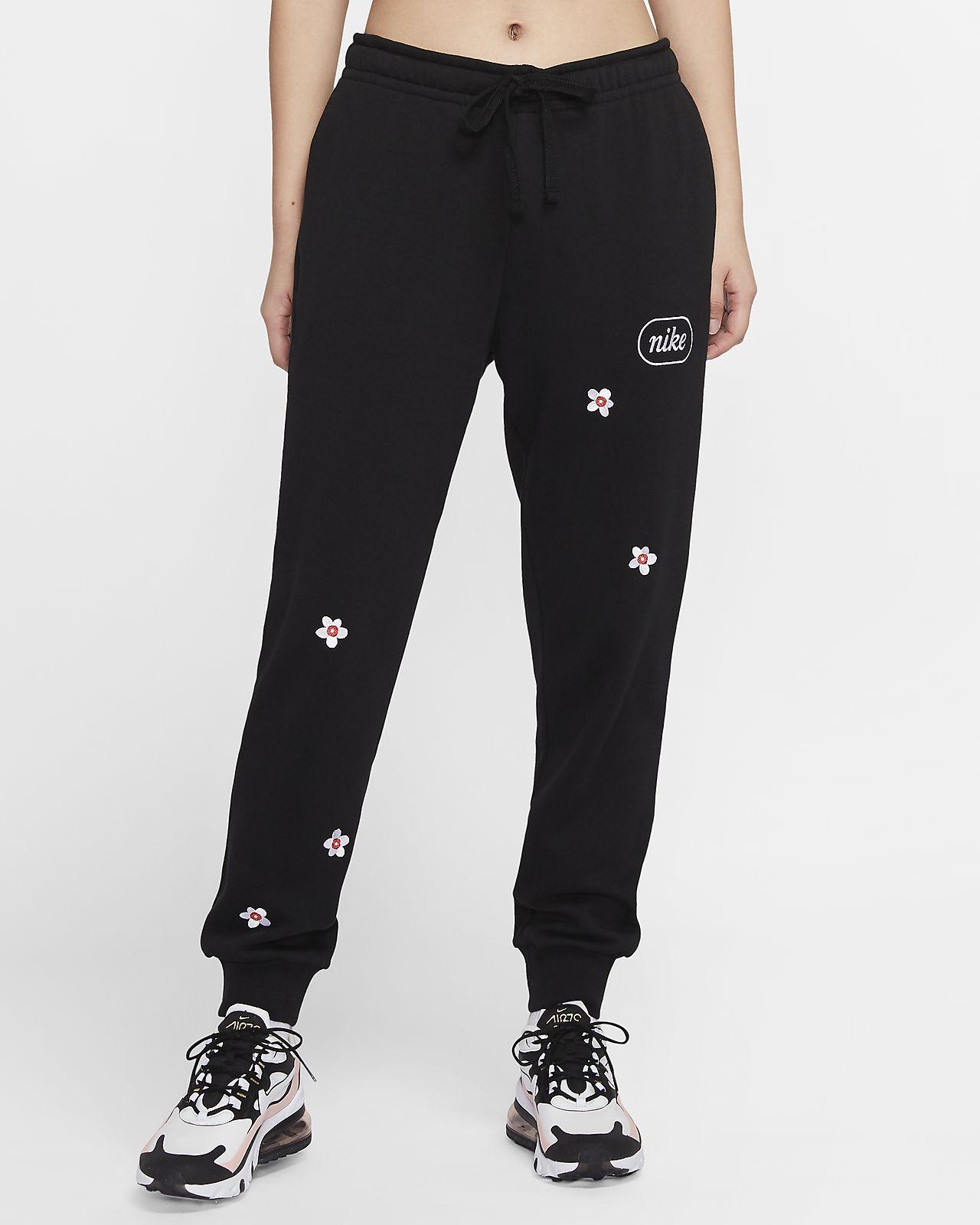 Nike Sportswear 女款繡花 Fleece 長褲