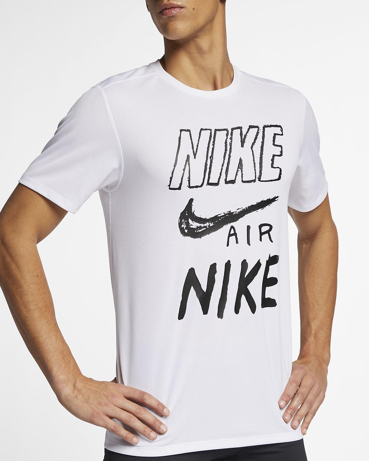 e1bbb97d Nike Breathe Men's Graphic Running Top. Nike.com LU