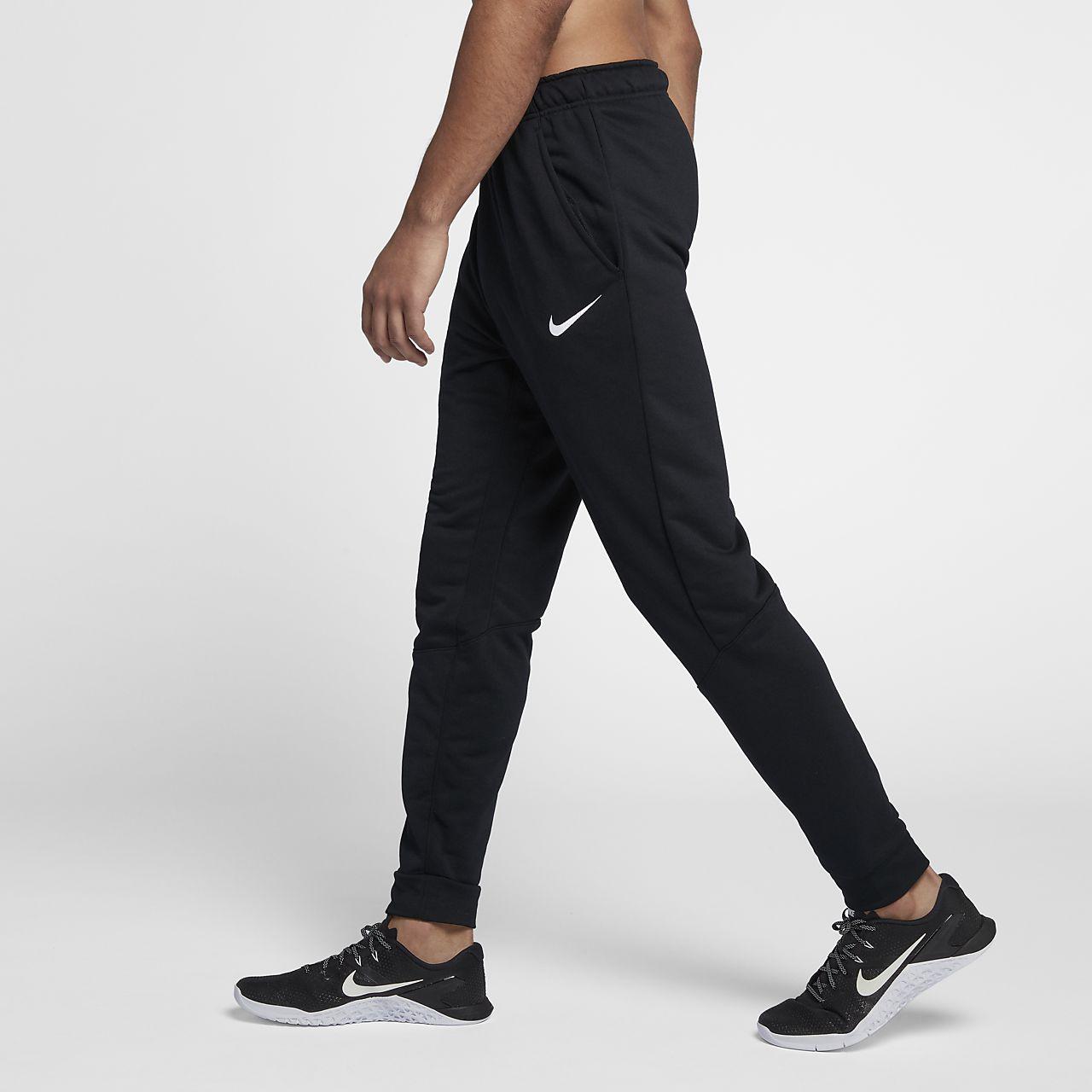 Nike Dri-FIT-faconsyede træningsbukser i fleece til mænd