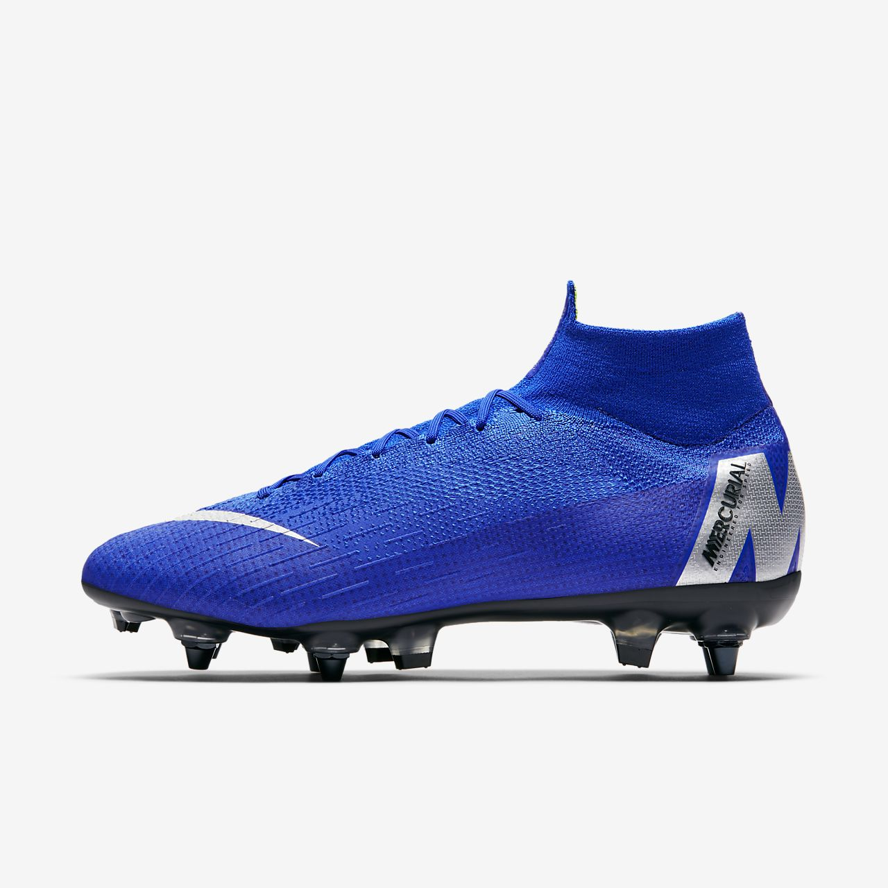 Chaussure de football à crampons pour terrain gras Nike Mercurial Superfly 360 Elite SG-PRO Anti-Clog