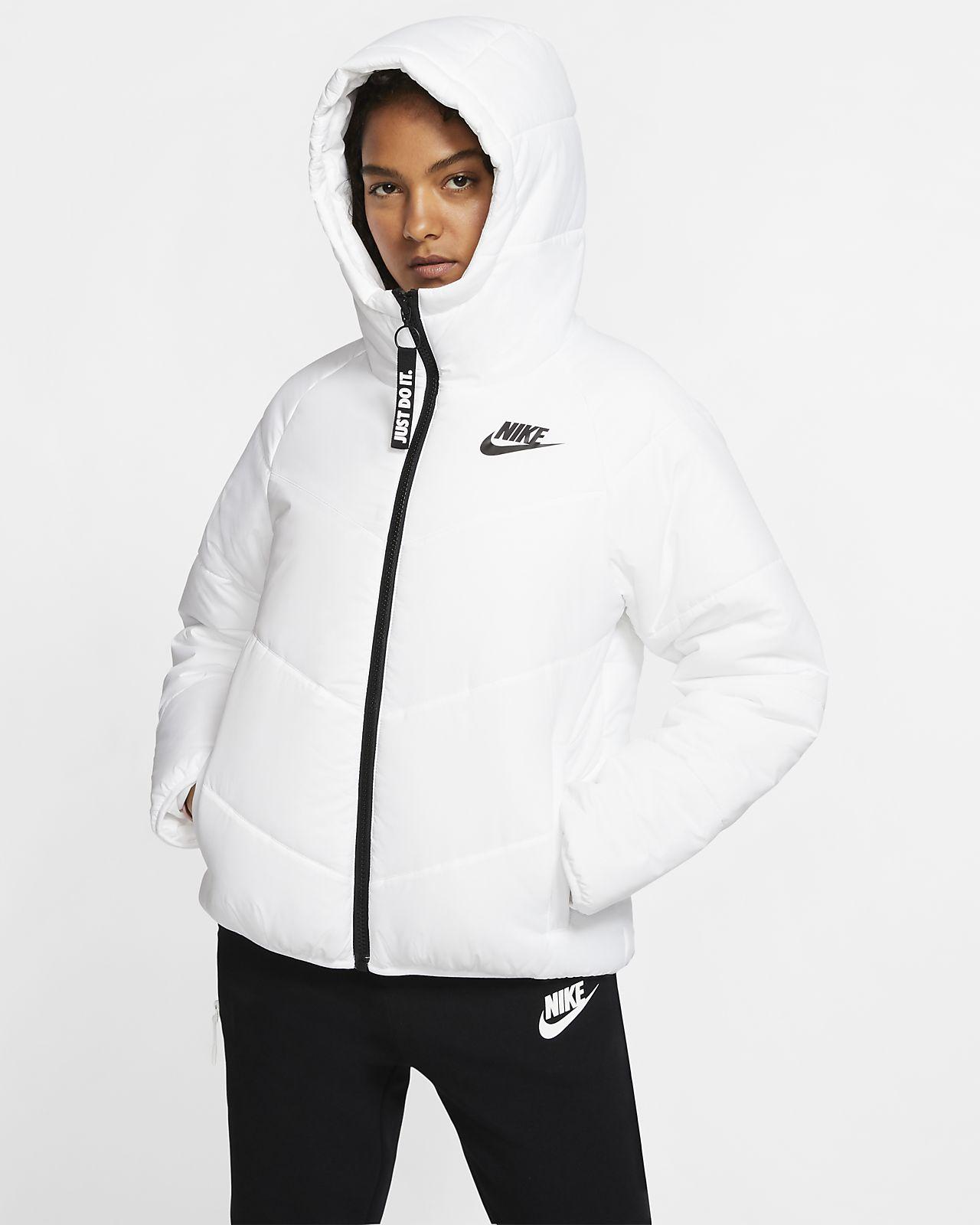 Nike Damenjacke Sportswear Windrunner Hoodie schwarz | Damen