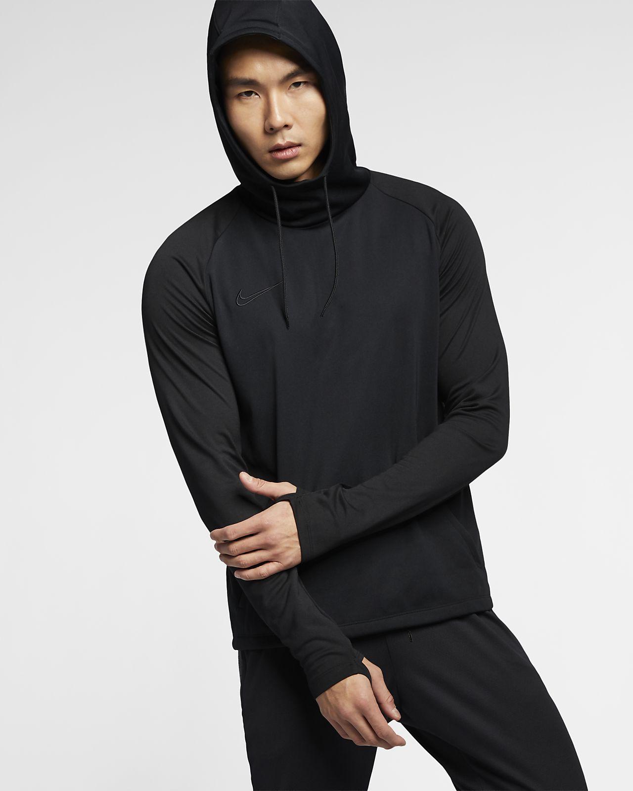 87e384e4a2cb Nike Dri-FIT Academy Men s Football Pullover Hoodie. Nike.com BE