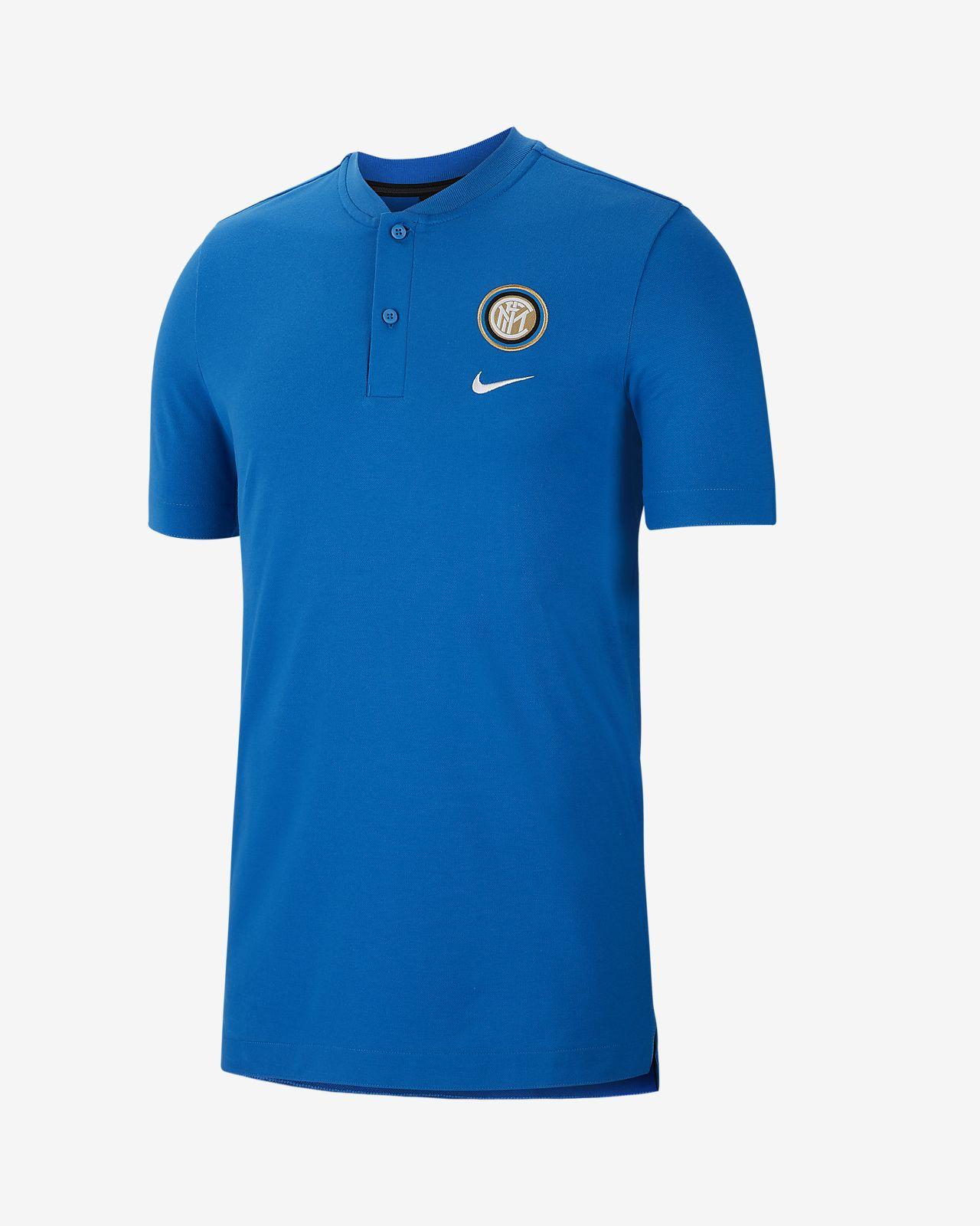 Męska koszulka piłkarska polo Inter Mediolan
