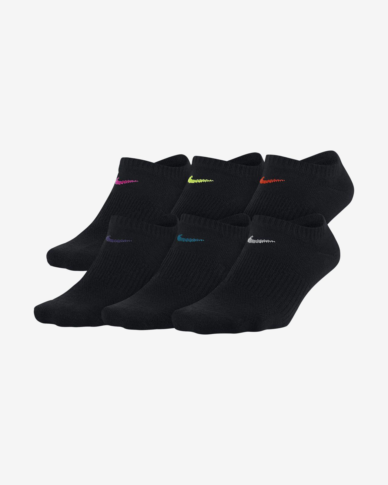 Nike Performance Lightweight No-Show Training Socks (6 Pair)
