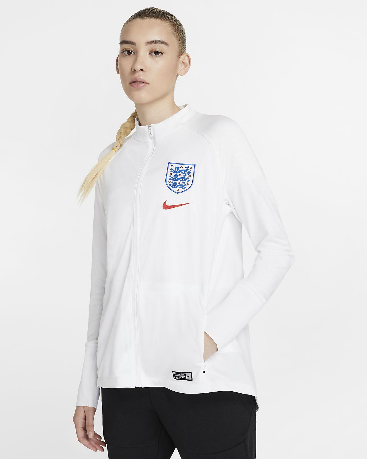 Chamarra de fútbol para mujer England Squad
