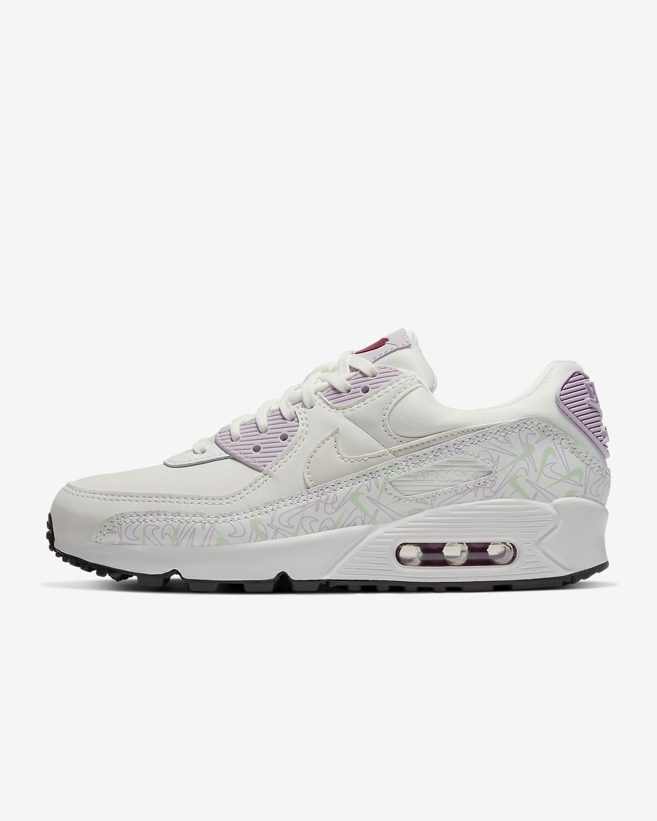 nike air max 90 pink grey white