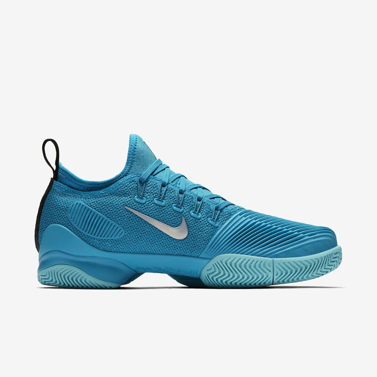 NikeCourt Air Zoom Ultra React HC Damen-Tennisschuh - Blau byvL9AX9