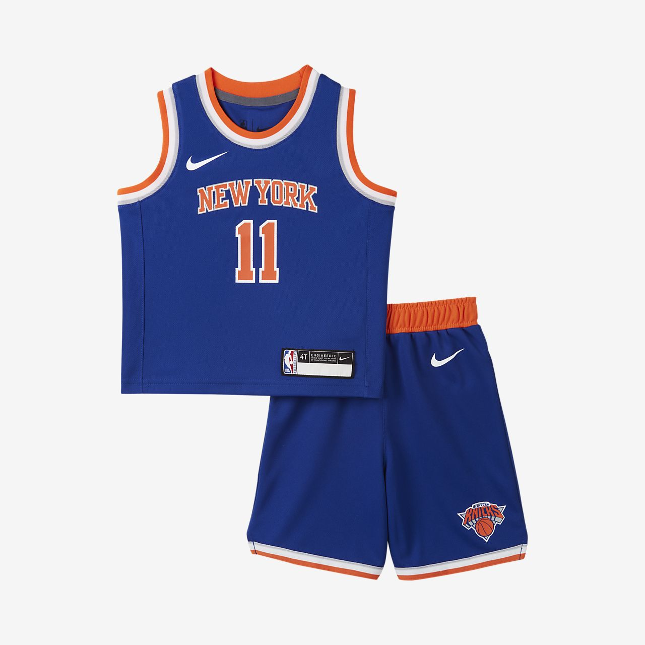 Knicks Replica Conjunto de camiseta y pantalón corto Nike NBA Infantil