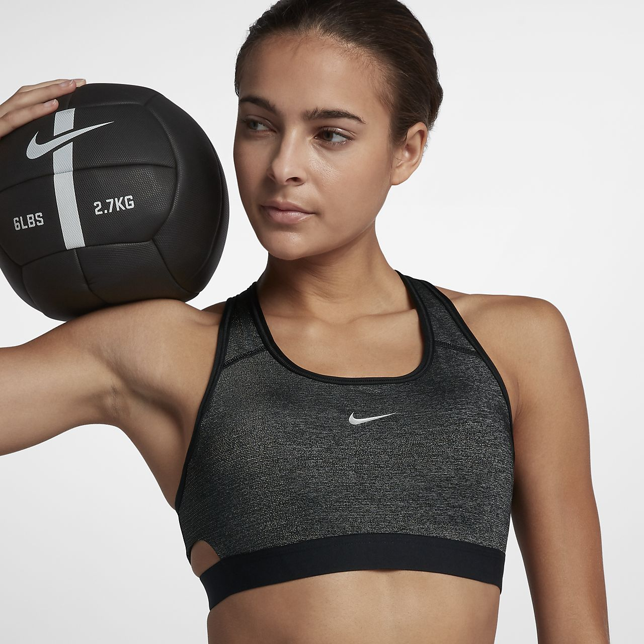b6270f55ab Nike Classic Sparkle Women s Medium-Support Sports Bra. Nike.com IE