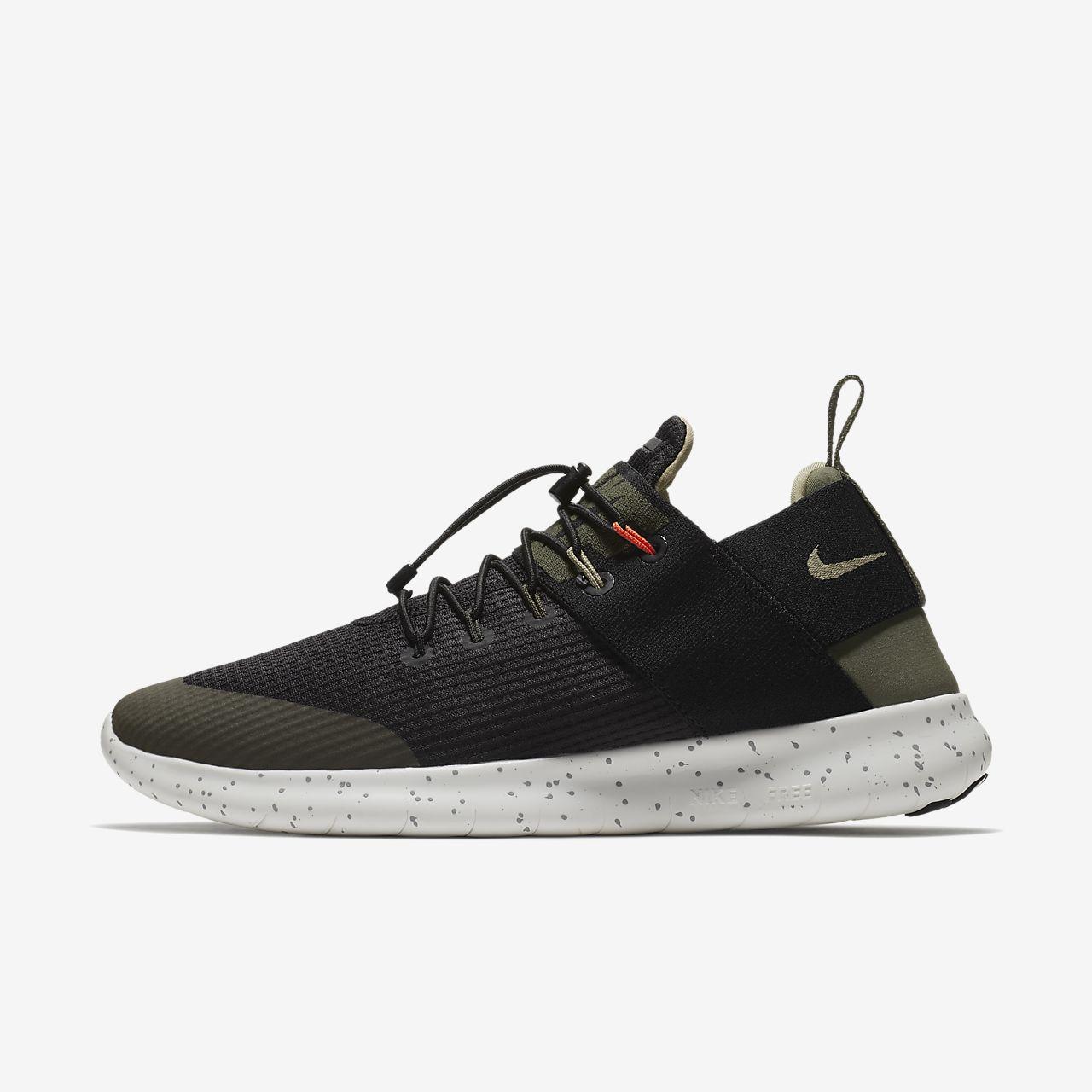 Nike RN 2017 Da Uomo Free Scarpe Da Corsa Fitness Palestra Allenamento Scarpe da ginnastica Black