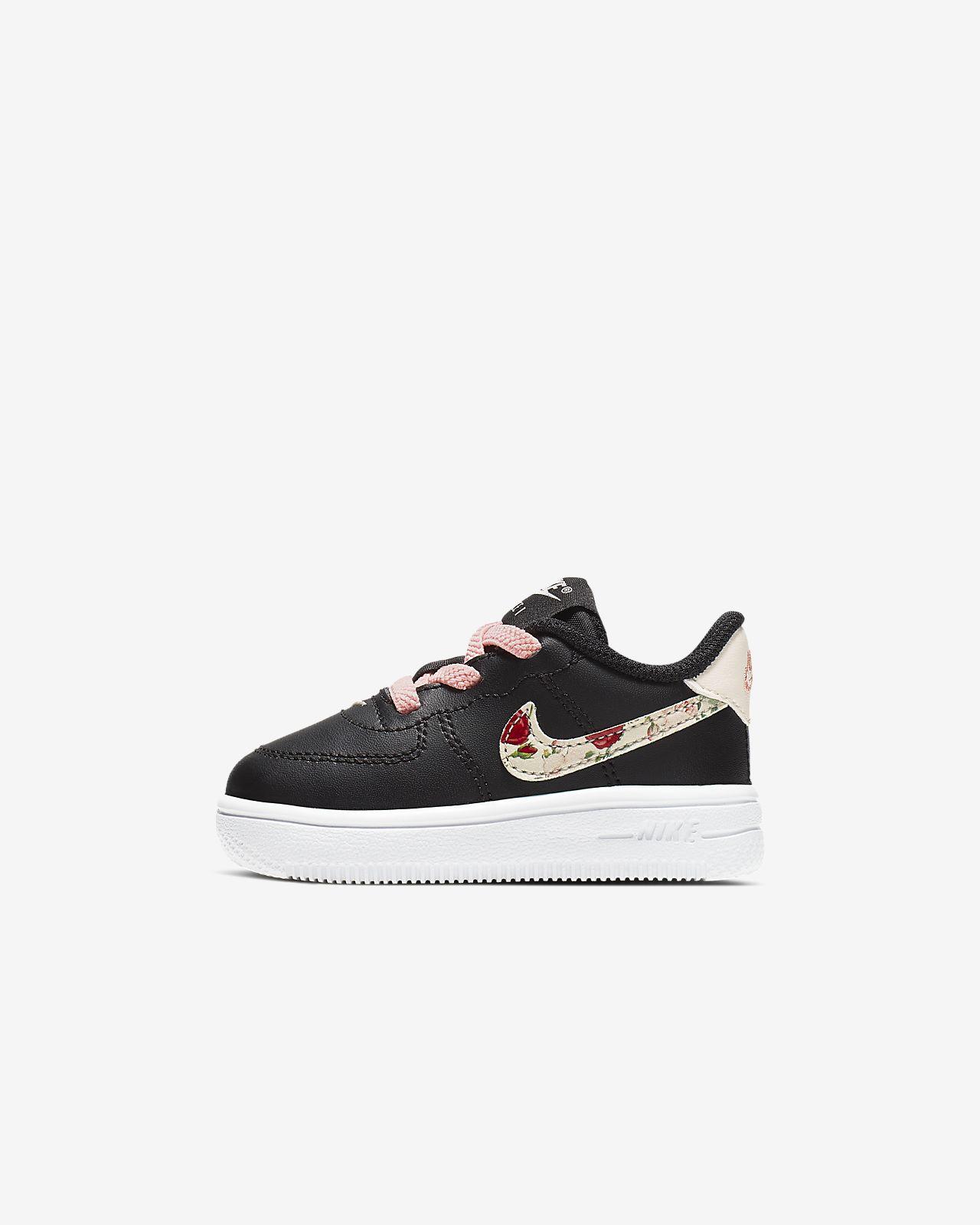 Nike Force 1 Vintage Floral sko til sped-/småbarn