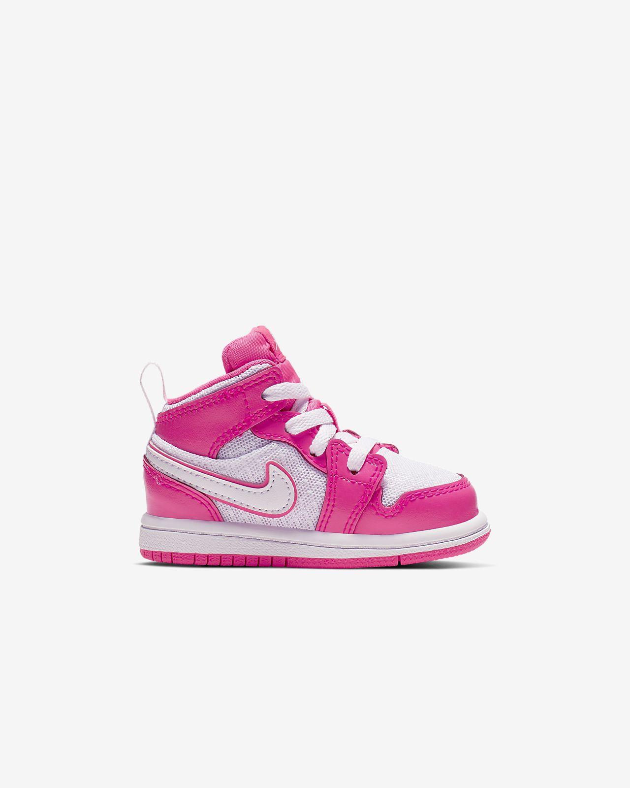 brand new 6e1a4 f62fc ... Air Jordan 1 Mid GT Infant Toddler Shoe