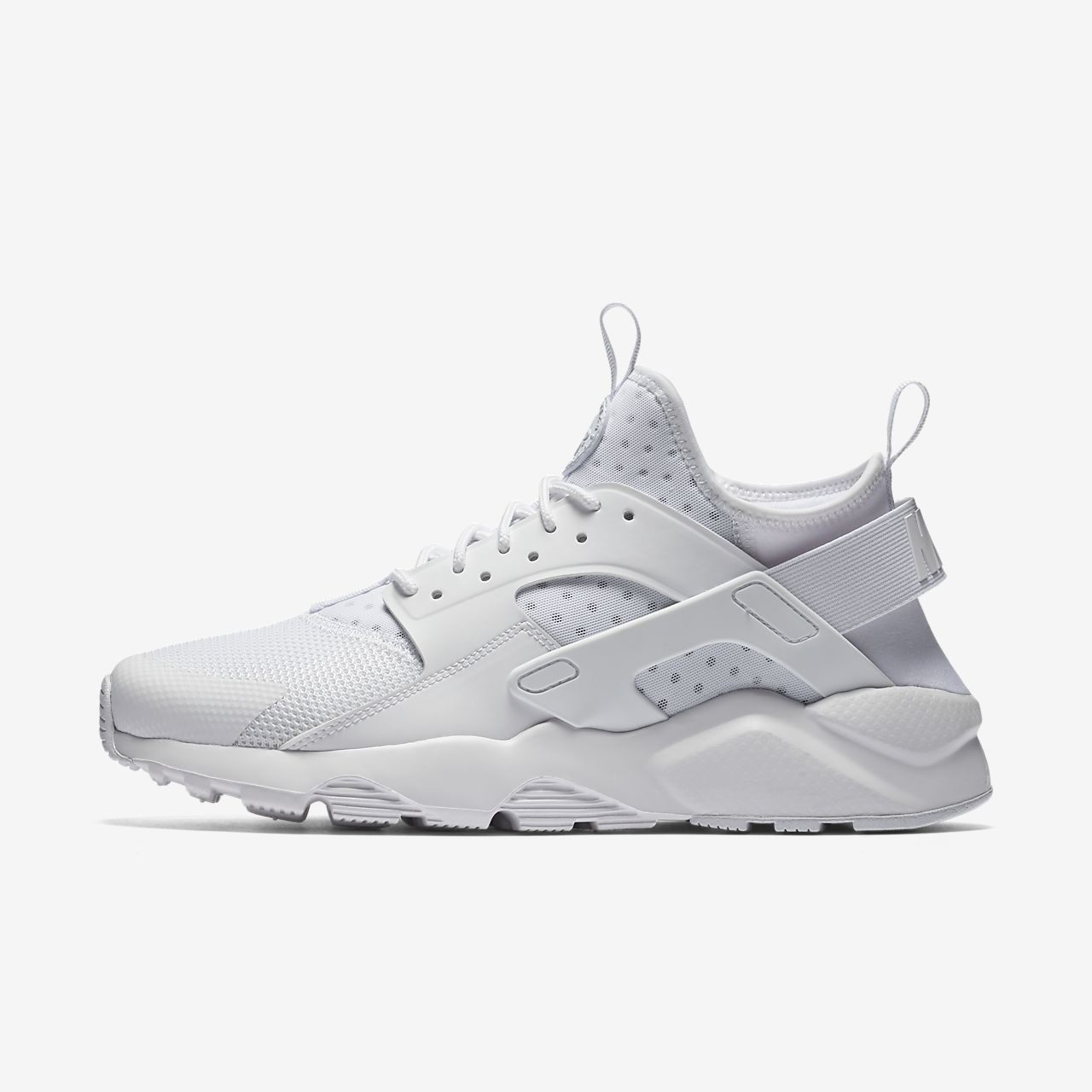 mens black and white nike huarache nz