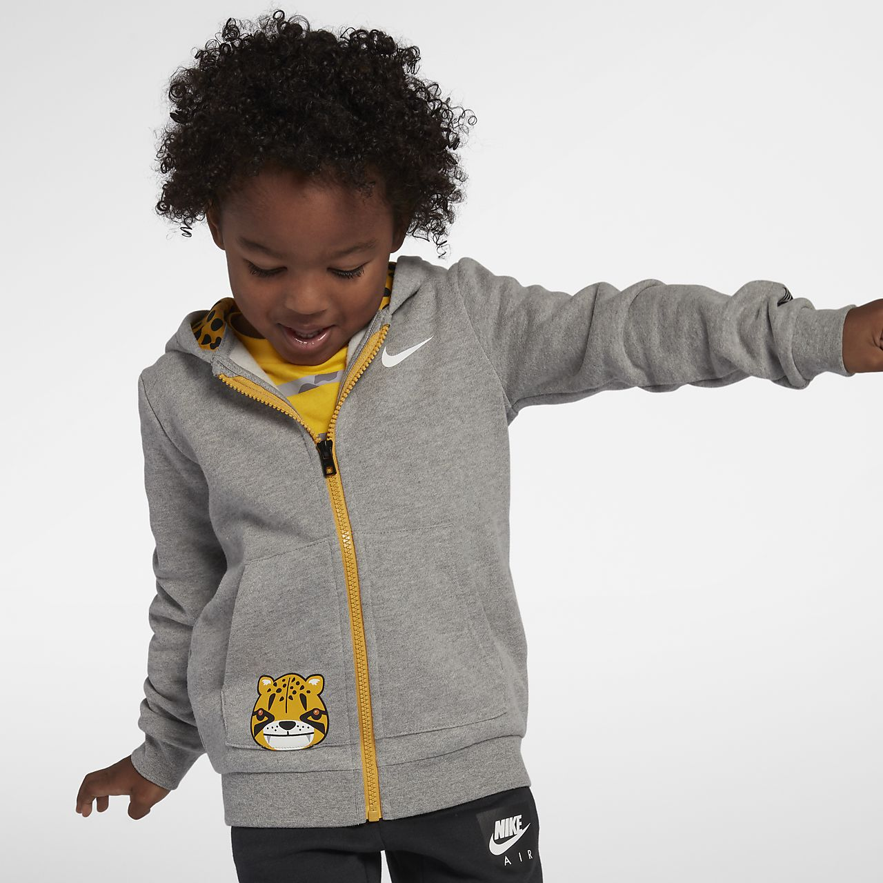 free shipping d223c a5df4 Kyrie Little Big Cats Toddler Full-Zip Hoodie. Nike.com