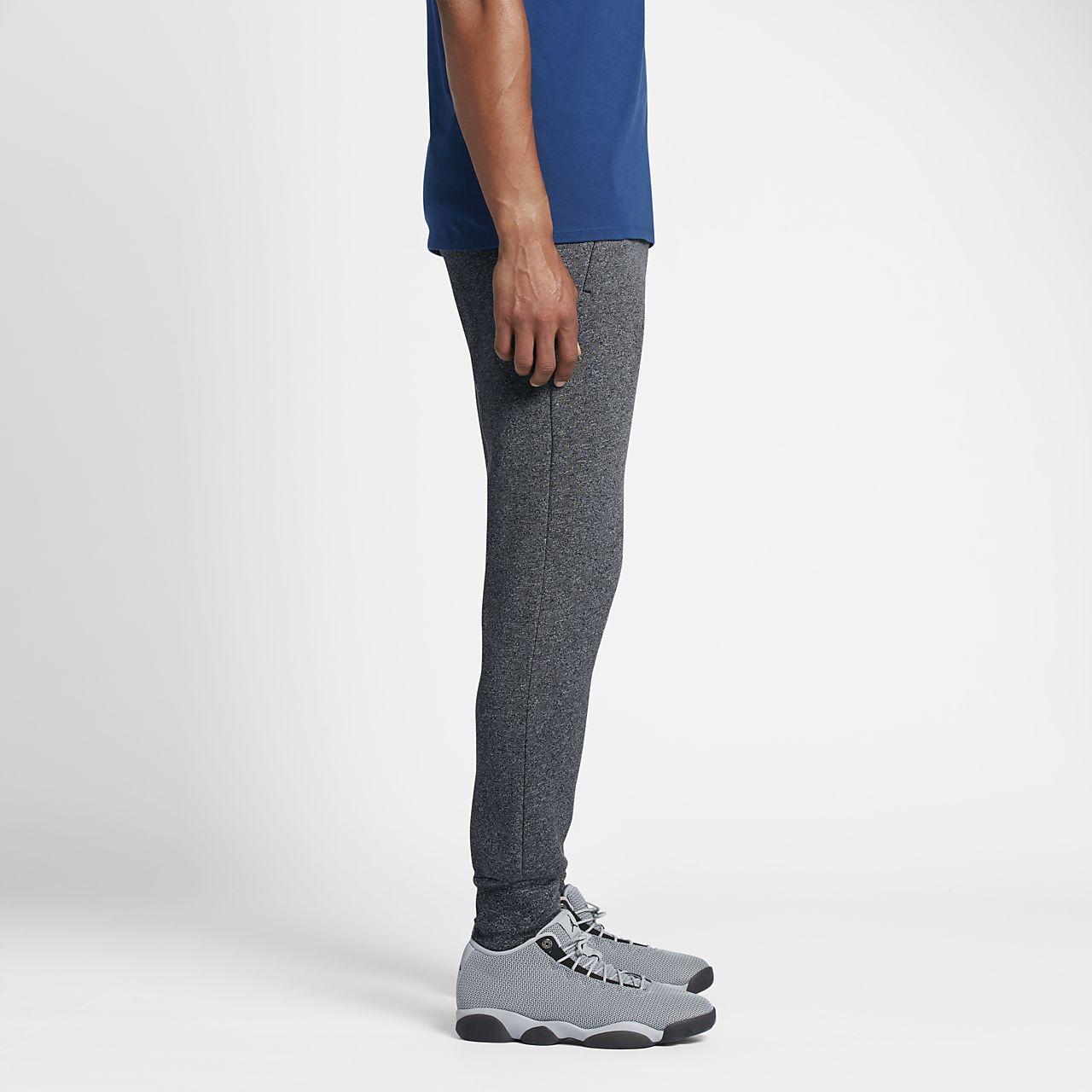 88e0feb485735 Pantalones de entrenamiento para hombre Jordan Icon Fleece Cuffed ...