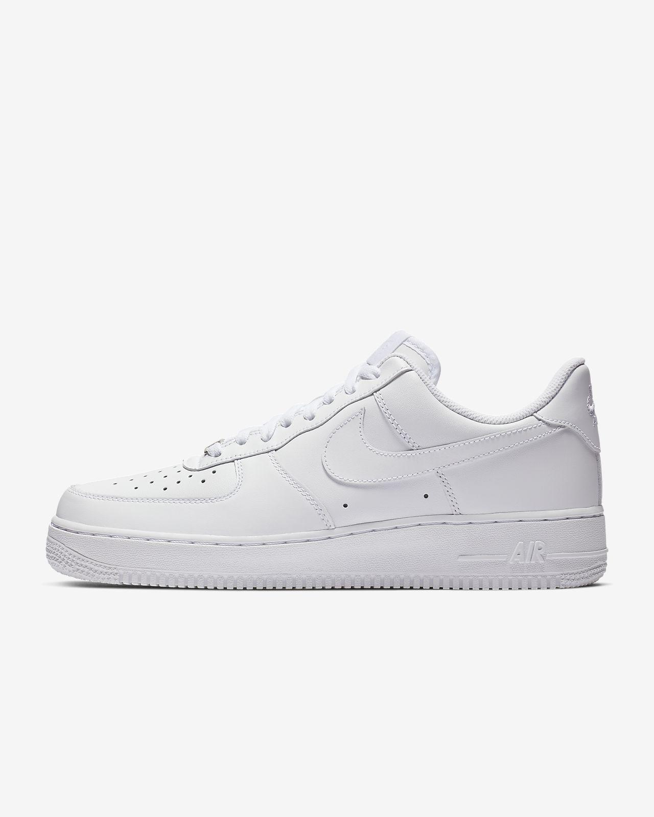 zapatillas nike air force 1 deportivas bajas blancas