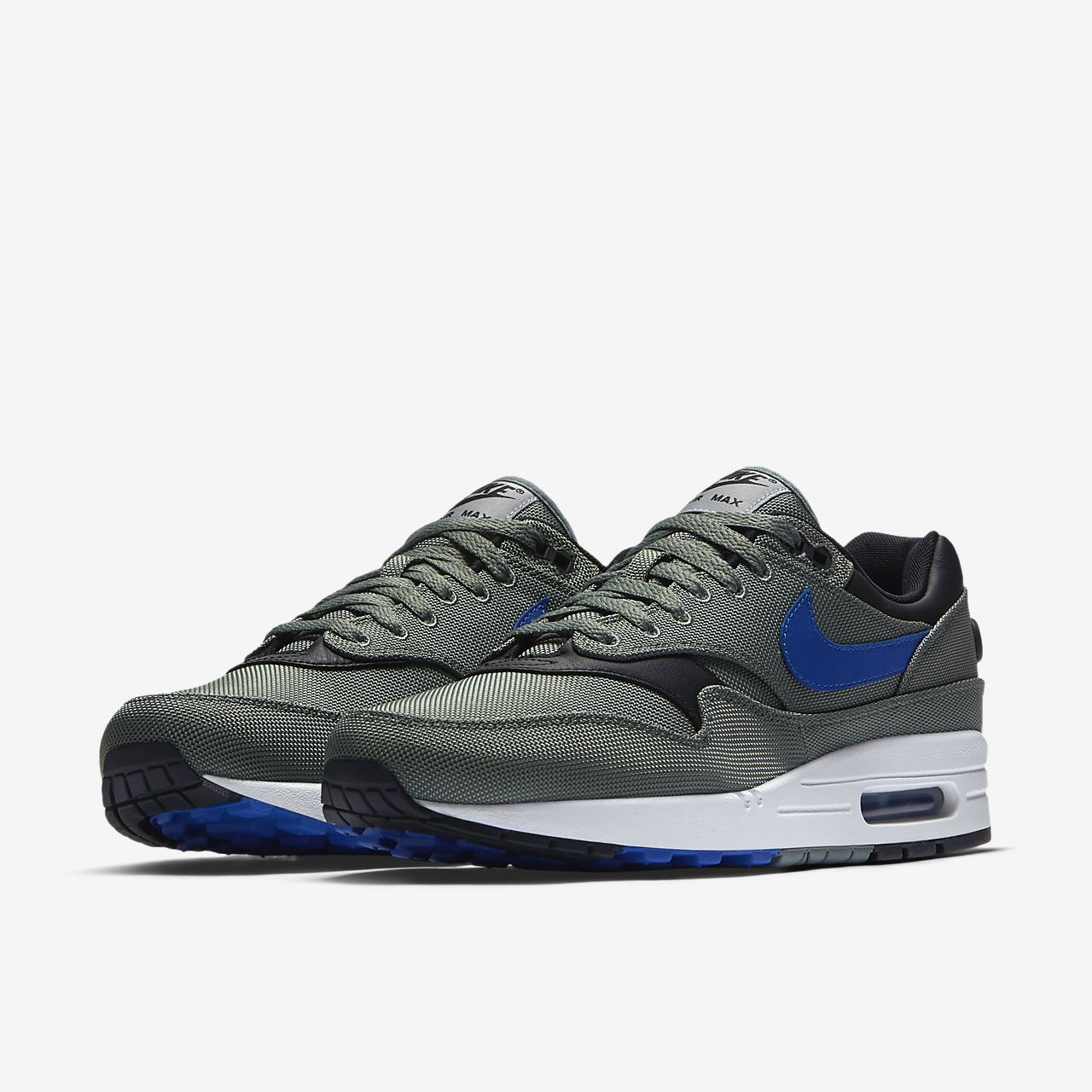 nike air max 1 heren navy blue