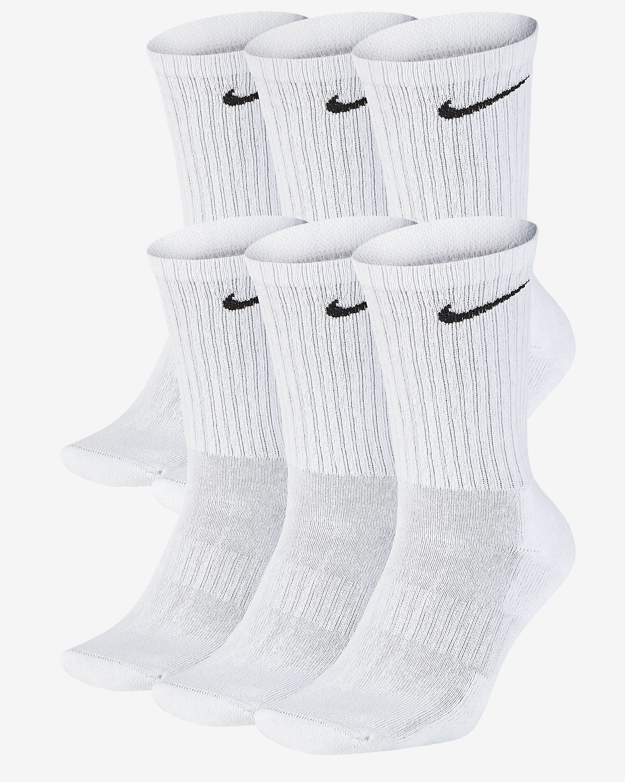 Nike Dri Fit Cushioned Crew Training Socks