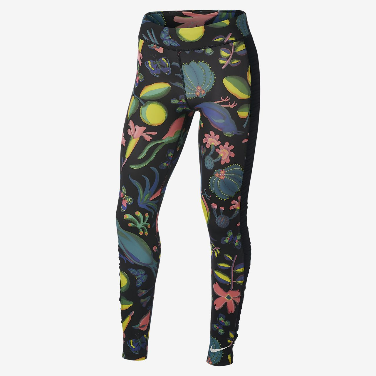 Nike One Older Kids' (Girls') Printed Training Tights