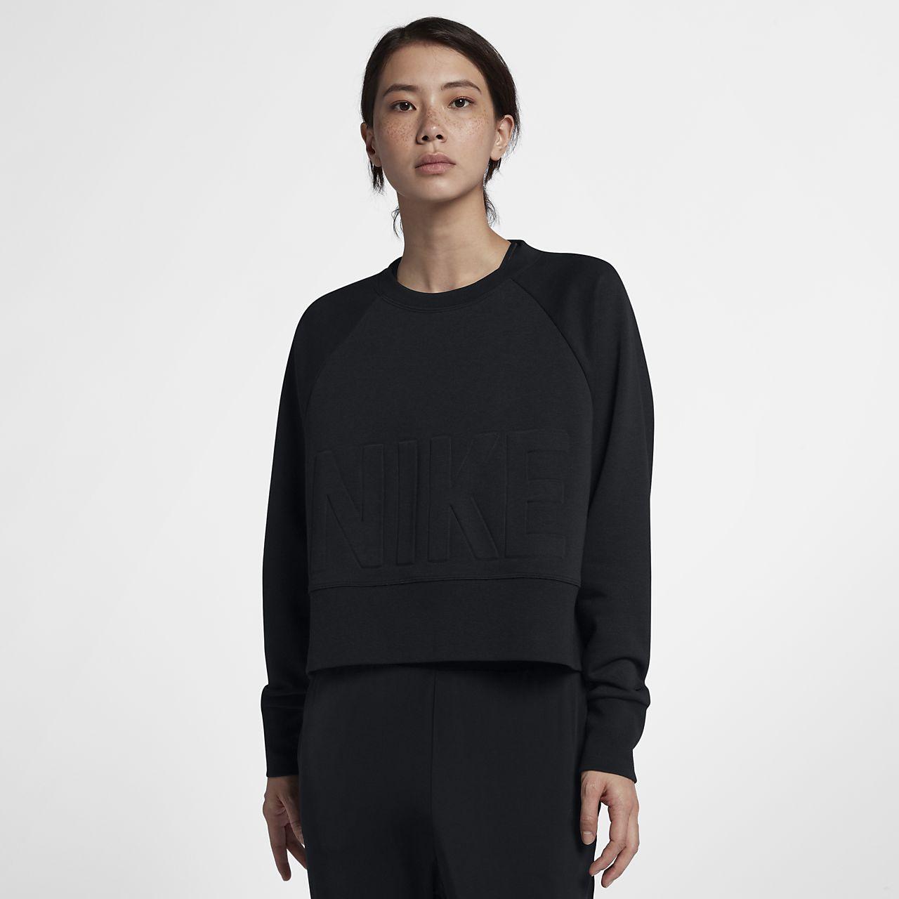 Camisola de treino de manga comprida Nike Versa para mulher