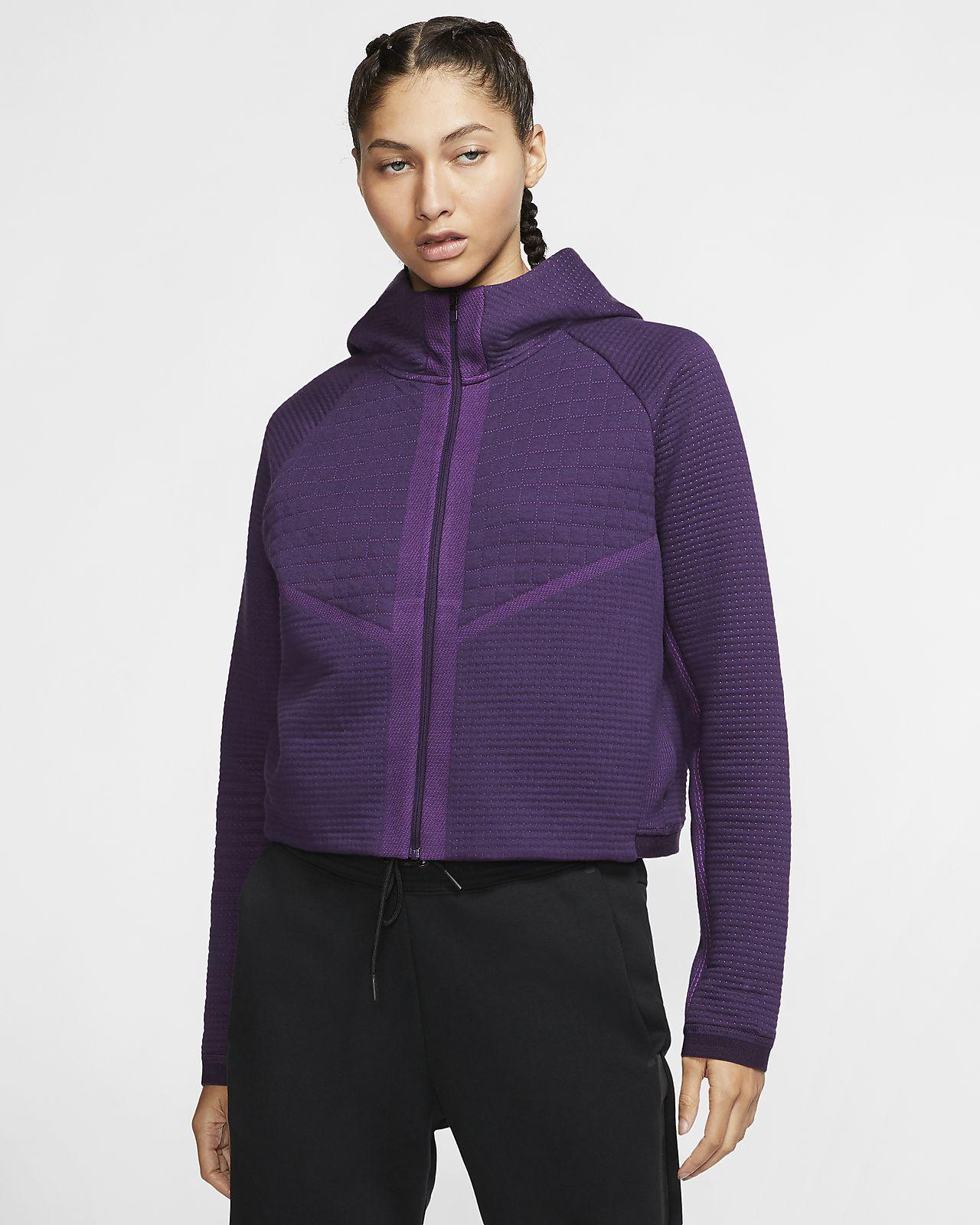Damska dzianinowa kurtka z zamkiem na całej długości Nike Sportswear City Ready