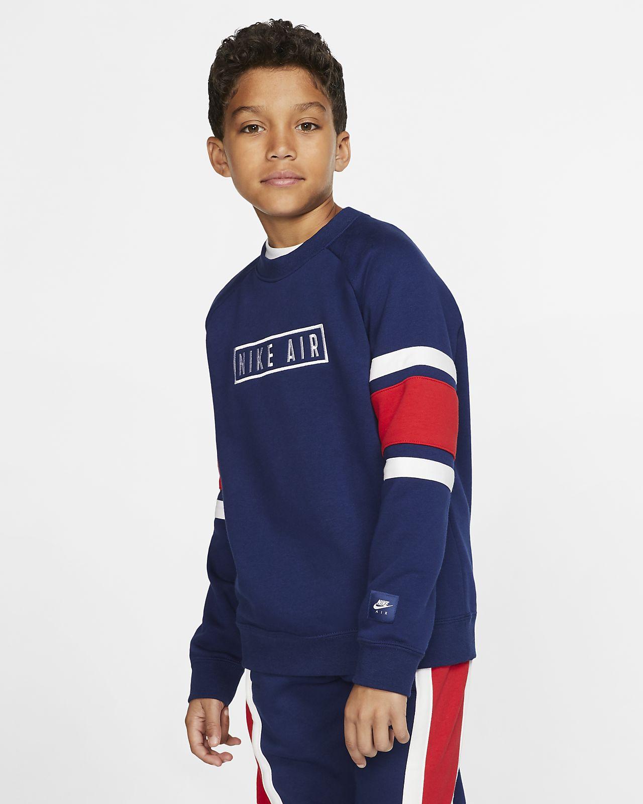 Nike Air Shirt met ronde hals voor kids