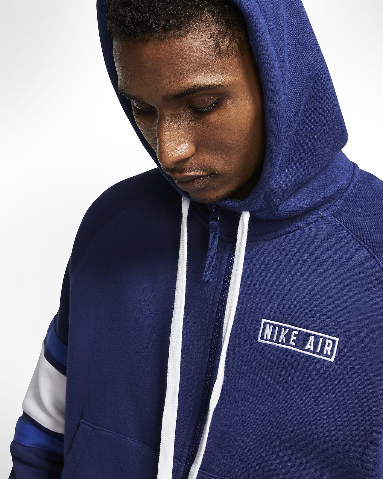 Nike Air Fleece Hoodie mit durchgehendem Reißverschluss für
